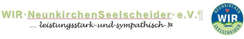 """Wir sind Mitglied in der Werbegemeinschaft """"Wir Neunkirchen-Seelscheider e.V."""""""